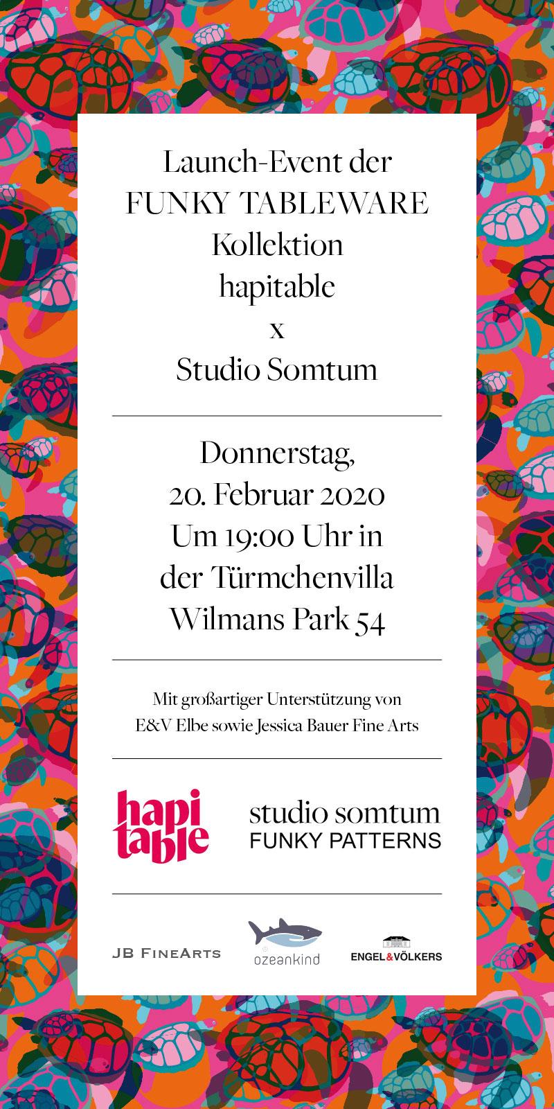 hapitable x Studio Somtum